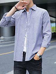 cheap -men's shirt - plaid shirt collar