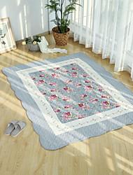levne -koberečky Moderní Látka s podšívkou, Obdélníkový Vynikající kvalita Koberec