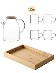 billige -drinkware Clear Water Pitcher glas Varmeisolerede Afslappet / Hverdag