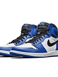 hesapli -Erkek Ayakkabı Suni Deri İlkbahar yaz Atletik Ayakkabılar Basketbol Atletik için Beyaz / Mavi