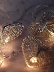 Недорогие -новинка любовь сердце свадьба фея рождество светодиодный бар стены окна строка света крытый вечеринка сад гирлянды освещение 2 м