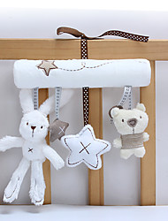 abordables -Rabbit Creativo Animales de peluche y de felpa Bonito Adorable Algodón / Poliéster Franela Juguet Regalo 3 pcs