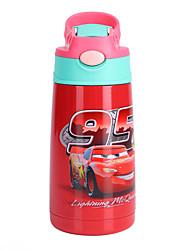 Недорогие -чайник Бутылки для воды Бутылка для воды 400 ml PP Прочный для Отдых и Туризм Велосипедный спорт / Велоспорт Путешествия Фиолетовый Небесно-голубой Желтый Красный Синий