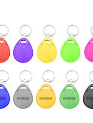 voordelige -5YOA 100KeyTK4100 RFID-keyfobs Thuis / Appartement / School