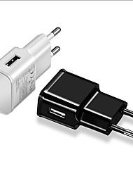 Недорогие -Быстрое зарядное устройство Зарядное устройство USB Евро стандарт КК 2.0 1 USB порт 2 A 100~240 V для Универсальный