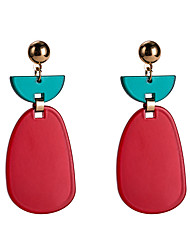 cheap -Women's Multicolor Pear Cut Drop Earrings Earrings European Jewelry Purple / Red / Royal Blue For Daily 1 Pair