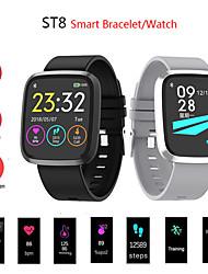 Недорогие -St8 SmartWatch Bluetooth Поддержка фитнес-трекер уведомить / измерения артериального давления спортивные смарт-часы для телефонов Samsung / Iphone / Android