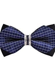 baratos -Homens Básico Gravata Borboleta Estampa Colorida