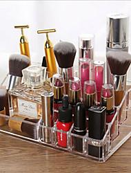 billige -lagringsorganisasjon kosmetisk makeup arrangør plast firkantet flerlag