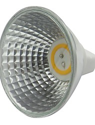 Недорогие -1 шт. 3.5 Вт MR16 светодиодный прожектор 300-320lm 12 В переменного тока постоянного тока светодиодная лампа белый теплый белый для домашнего офиса коммерческого освещения