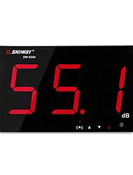Недорогие -sndway sw-525a цифровой измеритель уровня звука 30 ~ 130db большой экран дисплея ресторан бар / офис / дома на стене шумомер