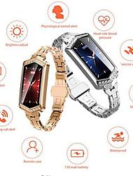 Недорогие -KUPENG B78 Женский Умный браслет Android iOS Bluetooth Smart Спорт Водонепроницаемый Пульсомер Измерение кровяного давления / Датчик для отслеживания сна / Найти мое устройство / будильник