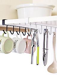billige -krok multi-funksjon kjøkken metallskap skjerf klær vinskap glass servise lagring rack raden garderobe