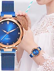 Недорогие -Жен. Кварцевые На каждый день Мода Черный Синий Красный сплав Китайский Кварцевый Розовый Серый Лиловый Новый дизайн Повседневные часы 1 ед. Аналоговый Один год Срок службы батареи
