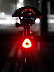 Недорогие -Светодиодная лампа Велосипедные фары Задняя подсветка на велосипед LED Горные велосипеды Велоспорт Велоспорт Интеллектуальная индукция Автоматическая тормозная индукция Литий-полимерная 20 lm / IPX 6