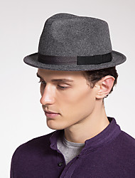 preiswerte -Wollfilz Hüte mit Farbeinheit 1 Stück Freizeitskleidung / Kentucky Derby Kopfschmuck