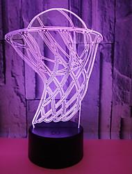 זול -USB מופעל לילה מוזר אור 3D כדורסל אנרגיה חזותית חיסכון בעין טיפול הוביל אור שולחן מנורה עבור סלון<5v