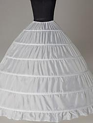 Недорогие -Невеста Classic Lolita 1950-е года Платья Нижняя юбка Кринолин Жен. Девочки Костюм Черный / Белый Винтаж Косплей Для вечеринок Выступление Принцесса