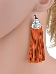 cheap -Women's Drop Earrings Earrings Romantic Elegant Jewelry Green / Light Blue / Dark Pink For Daily 1 Pair
