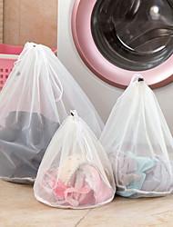 Недорогие -одежда сетчатые мешки молнии тонкие линии шнурок сумка для белья бюстгальтер нижнее белье защитные мешки для белья для стиральных машин