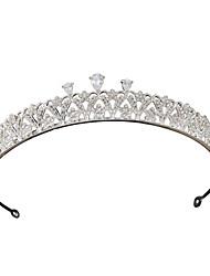 baratos -Liga Tiaras com Gliter com Brilho 1 Peça Casamento / Aniversário Capacete