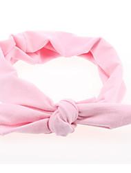 Недорогие -Дети (1-4 лет) Девочки Классический / Милая Однотонный С принтом Акрил Аксессуары для волос Розовый / Желтый / Пурпурный Один размер