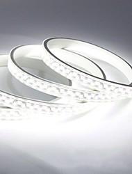 Недорогие -20м гибкие светодиодные полосы света 2400 светодиодов 5730 smd теплый белый холодный белый водонепроницаемый режущий декоративный 220-240 В 1 шт.