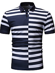 preiswerte -Herrn Solide Hemd Blau XL