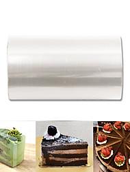 Недорогие -практичные мусс торт торт обернуть десерт окружающие твердые переплетенные края торта домашнее животное пластиковая полоса diy выпечки упаковка украшения инструменты