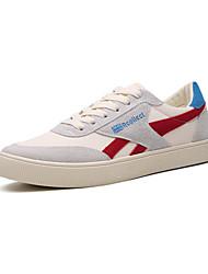 رخيصةأون -رجالي أحذية الراحة كانفا للربيع والصيف كاجوال أحذية رياضية المشي ارتداء إثبات أسود / أحمر / أخضر