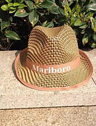 お買い得  -麦わら 帽子 とともに トリム 1個 カジュアル / デイリーウェア かぶと