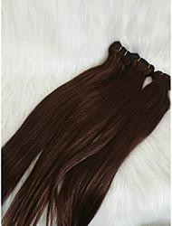 Χαμηλού Κόστους -Μαλλιά για πλεξούδες Ίσιο Προέκταση Φυσικά μαλλιά 1 Τεμάχιο μαλλιά Πλεξούδες Καφέ 18 inch 18χιλ Μεταξένιο / Hot Πώληση / Lovely Διακοπές / Δρόμος / Φεστιβάλ Βραζιλιάνικη