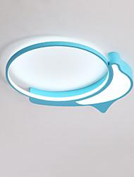 Недорогие -дельфин милый теплый потолочный светильник для детской комнаты / спальни
