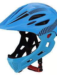 Недорогие -Wheel up Детские Мотоциклетный шлем BMX Шлем 9 Вентиляционные клапаны CE Ударопрочный Формованный с цельной оболочкой С возможностью регулировки прибыль на акцию Виды спорта / Мальчики / Девочки