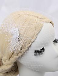 رخيصةأون -صاف قطع زينة الرأس / غطاء للرأس / إكسسوار للشعر مع لؤلؤ تقليد 1 قطعة زفاف / مناسبة خاصة / عيد ميلاد خوذة