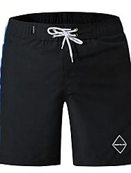 abordables -Hombre Chic de Calle Shorts Pantalones - Estampado Azul Piscina