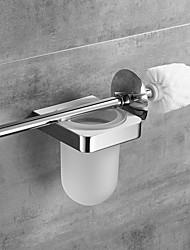 お買い得  -トイレブラシホルダー 新デザイン 真鍮 1個 - 浴室 壁式