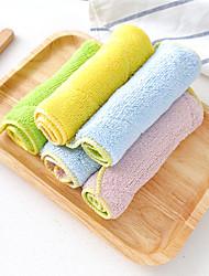 tanie -Kuchnia Środki czystości Włókno bambusowe Szczotka i ścierka do czyszczenia Univerzál 4 szt.