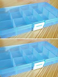 hesapli -Depolama organizasyonu kozmetik makyaj organizatör plastik kare çevir aç kapak
