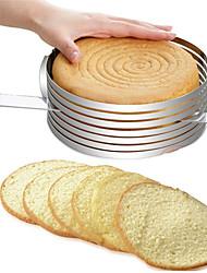 hesapli -Kek kalıbı yaratıcı yuvarlak ayarlanabilir pişirme kek gofret kesici