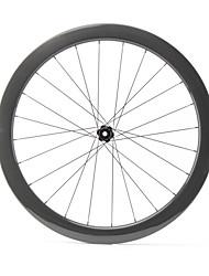 Недорогие -FARSPORTS 700CC Колесные пары Велоспорт 25 mm Шоссейный велосипед 100% углеволокно Бескамерная шина Спицы 50 mm