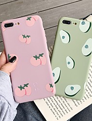 Недорогие -чехол для яблока iphone xr / iphone xs max шаблон задняя крышка еда мягкое тпу для iphone x xs 8 8plus 7 7plus 6 6s 6plus 6s plus