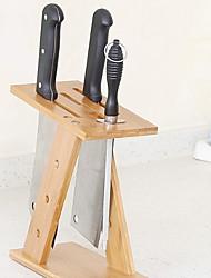 ราคาถูก -คุณภาพสูง กับ ไม้ ผู้ถือเครื่องครัว ใช้เป็นประจำ ครัว การเก็บรักษา 2 pcs