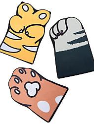 voordelige -1pc Cartoon Badmatten / Badtapijten Coral Velve Nieuwigheid / dier Schattig / Anti-slip / verdikking