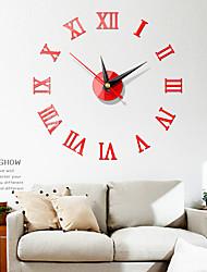 Χαμηλού Κόστους -DIY τοίχο ρολόι του ευρωπαϊκού πλαστικού ακρυλικό γύρο εσωτερικό