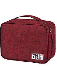 Недорогие -дорожная сумка для переноски портативный цифровой usb гаджет организатор зарядное устройство провода косметическая молния сумка для хранения комплект принадлежностей аксессуары