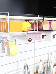 billige -kjøkken oppbevaring metallkurv rackskap krok hylle kopp oppvaskehenger baderom oppbevaringsboks
