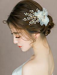 Недорогие -Сплав Зажим для волос с Цветы 1 ед. Свадьба Заставка
