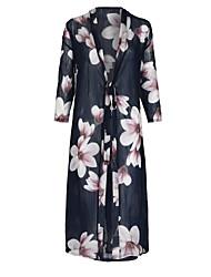 זול -פרחוני - חצאיות נדנדה בוהו / סגנון רחוב בגדי ריקוד נשים