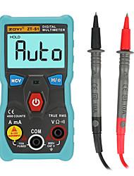 halpa -zt-s1 automaattinen valikoima digitaalinen multimeter true-rms älykäs ncv 4000 laskee AC / DC-jännitevirran ohmityökalun täysautomaattisesti